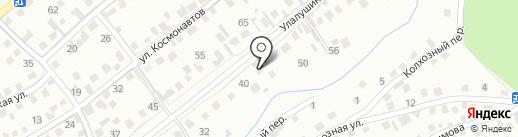 СТО на карте Горно-Алтайска