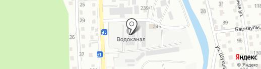 Аварийно-диспетчерская служба на карте Горно-Алтайска