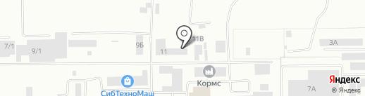 Экорициклинг на карте Кемерово