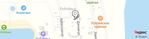 Андреева дача на карте Аската