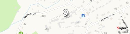 Комплекс на карте Кызыла-Озека