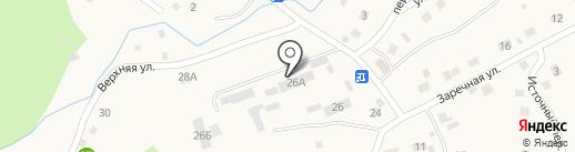 Эваз на карте Кызыла-Озека
