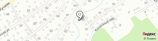 Автожизнь на карте Горно-Алтайска