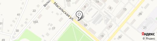 Гранат на карте Кемерово