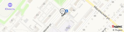 Ателье на карте Кемерово