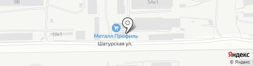 Цех по резке и обработке керамогранита и натурального камня на карте Кемерово