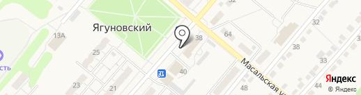 Поляна на карте Кемерово