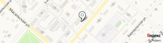 Ягуновское на карте Кемерово
