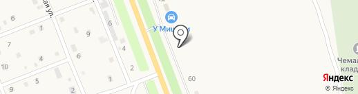 У Мишани на карте Чемала