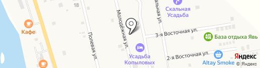 Усадьба Васькиных на карте Элекмонара