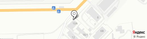 Токарь на карте Кемерово