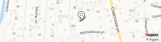 Огонек на карте Кызыла-Озека