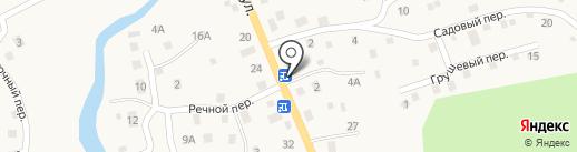 Ирис на карте Кызыла-Озека
