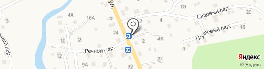 Крист-Ал на карте Кызыла-Озека