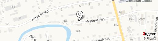 ИВЭП на карте Кызыла-Озека