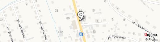Мясной магазин на карте Кызыла-Озека