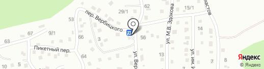 Девятка на карте Горно-Алтайска