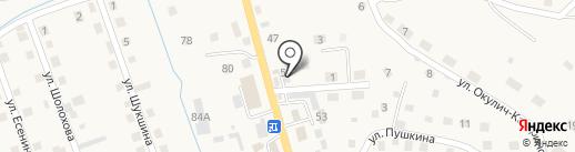Сервисный центр на карте Кызыла-Озека