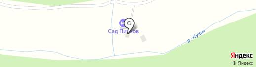 Заимка на Куюме на карте Элекмонара