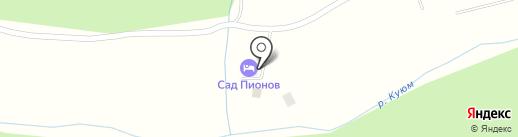 Сад Пионов на карте Элекмонара