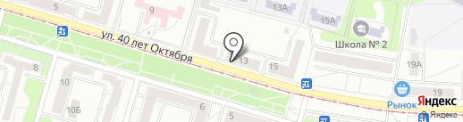 Матрёшка на карте Кемерово