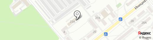 Дом Быта 2 на карте Кемерово