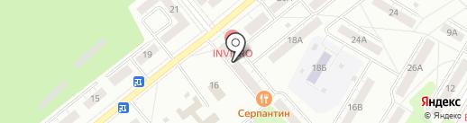 Банкомат, Росбанк, ПАО на карте Кемерово
