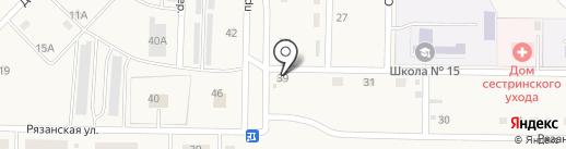 Диана на карте Ленинска-Кузнецкого