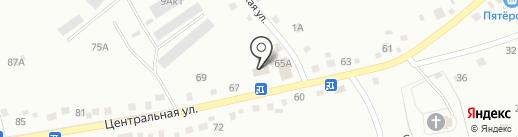 Ремонтная мастерская на карте Кемерово