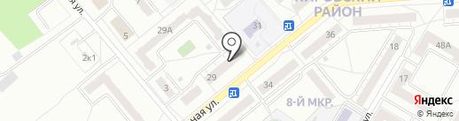 Брукидс на карте Кемерово