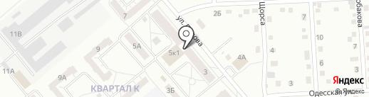 Кировский на карте Кемерово