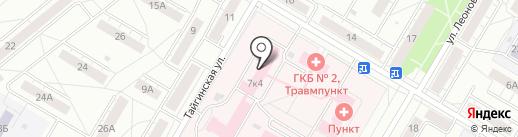 Городская клиническая больница №2 на карте Кемерово