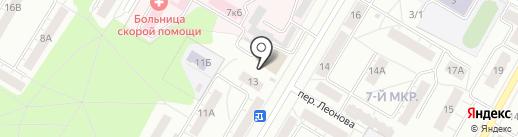 Сеть ателье на карте Кемерово