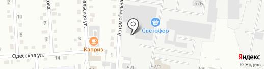 Алинэлс-сервис на карте Кемерово
