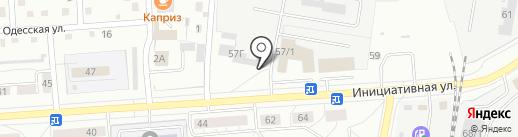 ФЛОРена на карте Кемерово