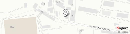 КАСКАД-СЕРВИС на карте Кемерово
