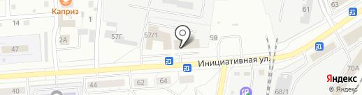 Ангел на карте Кемерово