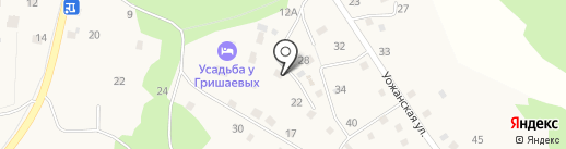 Гнездо Журавля на карте Чемала