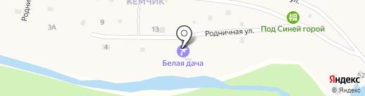Белая дача на карте Элекмонара