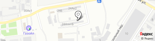 КЕМТЕХПРОМ на карте Кемерово