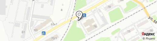 ЖилИнвест на карте Кемерово