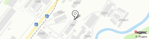 Вертикаль на карте Кемерово