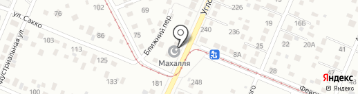 Махалля на карте Кемерово
