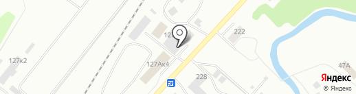 КМПК на карте Кемерово