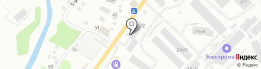 Профсталь на карте Кемерово