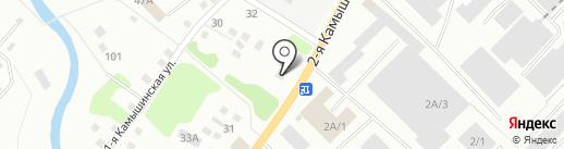 АвтоАкцент на карте Кемерово