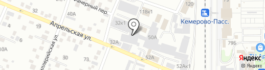 Винтер-мебель на карте Кемерово