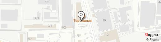 Омега на карте Кемерово