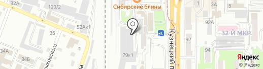 Банкетный зал на карте Кемерово