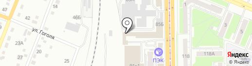 Дельта на карте Кемерово